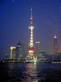 Oriental Pearl Tower by Night - Pudong