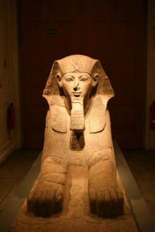 Ägypt. Museum  Grabwächter - Ägyptisches Museum
