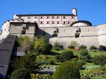 Nahes Ausflugsziel Burg Werfen - Burg Hohenwerfen