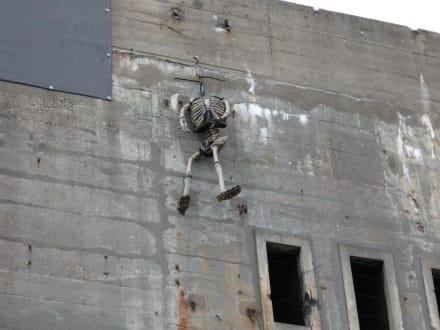Luftschutzbunker - Luftschutzbunker mit Gruselkabinett