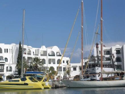 Yachten im Hafen - Yachthafen Port el Kantaoui