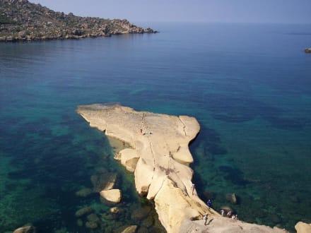 Grillplatz für Sonnenanbeter - Strand Golden Bay