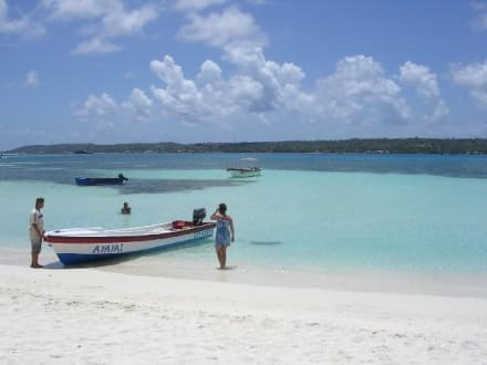 San Andres - Acuario Sandbank - Insel Johny Cay