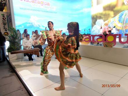 Tänze aus Nicaragua - ITB - Tourismuss Messe