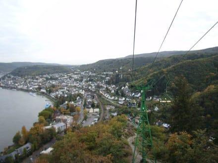 Blick auf den Rhein bei Boppard - Vierseenblick