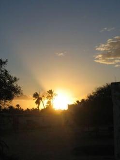 Sonnenuntergang beim Ausflug im Hinterland - Ranch Djerba Caravane