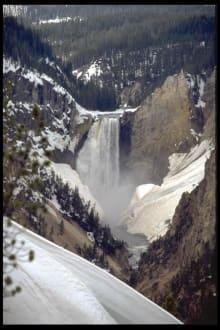 Lower Yellowstone Falls - Yellowstone Nationalpark
