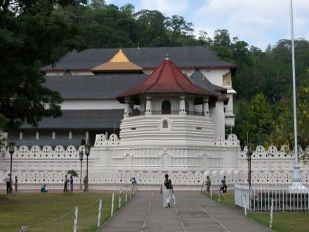 Zahntempel in Kandy - Dalada Maligawa (Zahntempel)