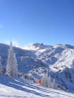verschneite Winterlandschaft - Skigebiet Hochkar