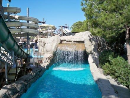Wasserfall - Troy Aqua Park