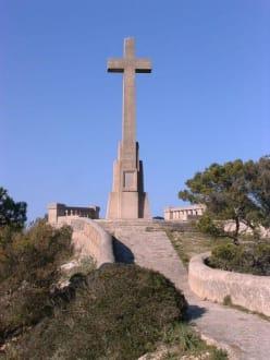 Steinkreuz - Puig de San Salvador