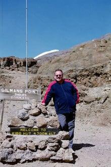 Bei der Kibo Hütte - Kilimanjarobesteigung