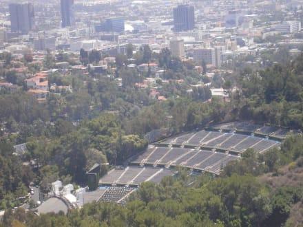 Blick auf die Hollywood Bowl - Hollywood Bowl