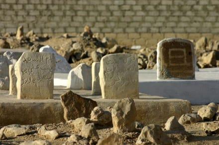 Islamitischer Friedhof nahe Seyun - Seyun