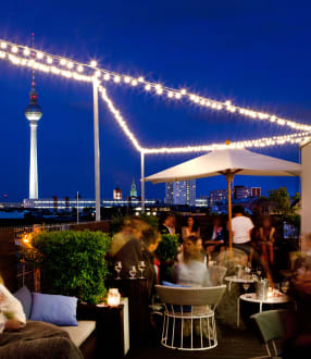 Bar at rooftop  -