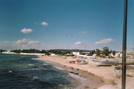 Strand von Hammamet (im Zentrum-an der Medina) - Strand Hammamet