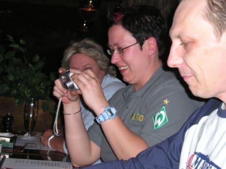 Barbara, Alex und Olaf - HolidayCheck User-Treffen Nord