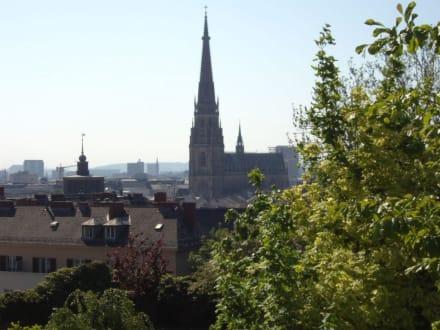 Blick zum alten Dom - Altstadt Linz