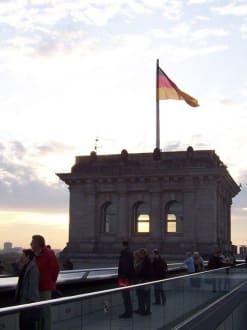 Ausblick von oben - Bundestag / Reichstag