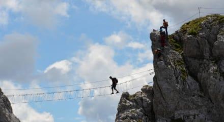 Nassfeld Däumling Klettern - Klettersteig Däumling