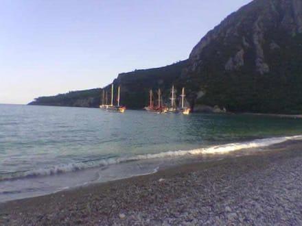 Der Strand von Cirali - Strand Cirali