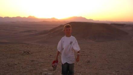 Michel in der Arabische Wüste - Wüste