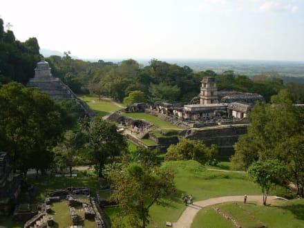 Pyramide - Maya Pyramiden Palenque