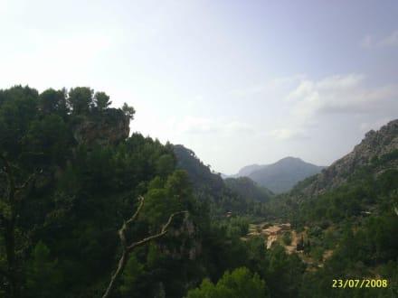 Es boten sich einem wunderschöne Ausblicke - La Reserva Parc Natural