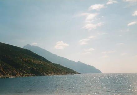 Berg Athos  / Chalkidiki / Griechenland. - Mönchsrepublik Athos