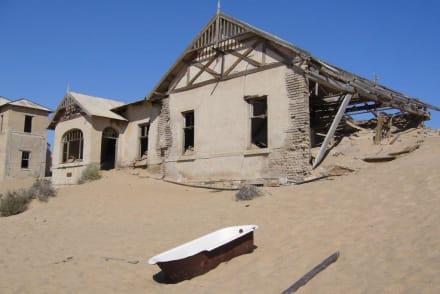Versandete Stadt! - Kolmanskop