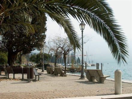 Uferpromenade - Hafen Riva del Garda