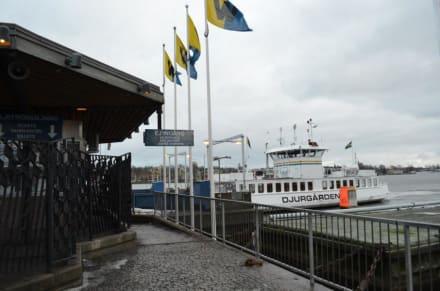 Djurgården Fähre - Schiffe und Fähren Waxholmsbolaget