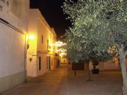 Abends in der Altstadt von Rota - Altstadt Rota