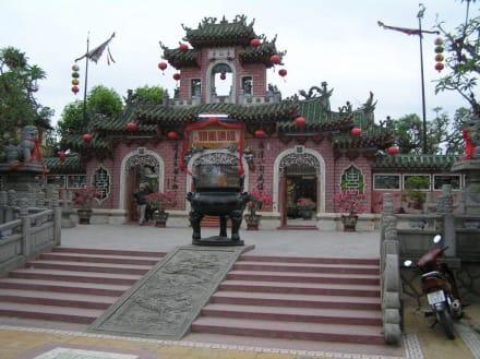 Chinesischer Tempel in Hoi An - Phuoc Kien Versammlungshalle