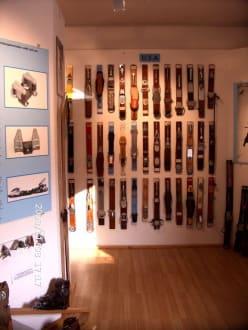Skibindung - Weiterntwicklung - Kleinmuseum Klösterle