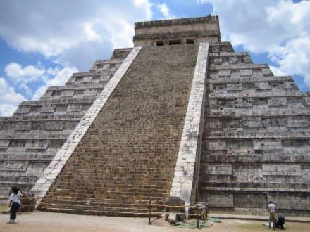 Die bekannteste Tempelanlage in Mexico - Ruine Chichén Itzá