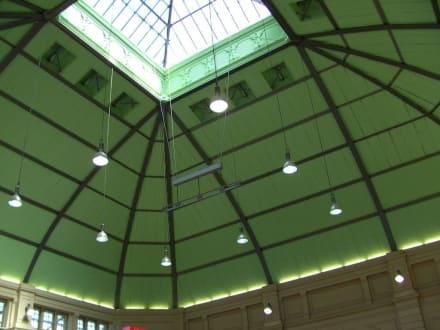 Kuppeldach (Innenraum) - Halle (Saale) Hauptbahnhof