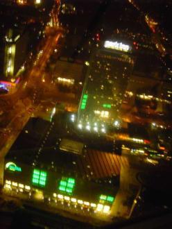 Aussicht vom Berliner Fernsehturm - Berliner Fernsehturm
