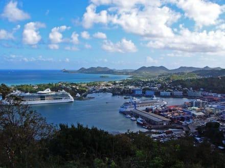 Hafen von St.Lucia - Kreuzfahrthafen Castries