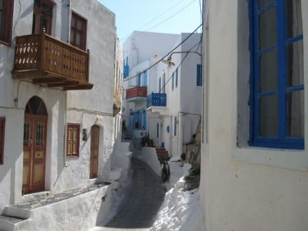 Insel Nissyros Mandraki - Altstadt Mandraki
