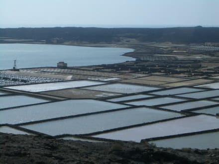 Salzgewinnung - Salinas de Janubio
