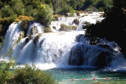 Krka-Wasserfälle - Nationalpark Krka