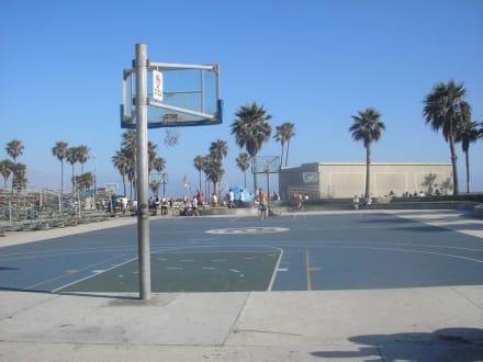 Basketballfelder am Venice Beach - Venice Beach