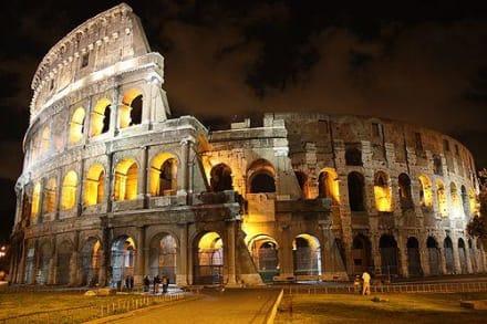Colosseum bei Nacht - Kolosseum