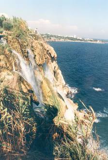 Bei Antalya - Unterer Düden Wasserfall / Karpuzkaldiran Şelalesi