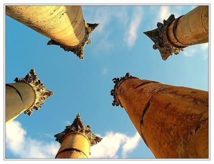 Tanzende Säulen (Jerash) - Jerasch