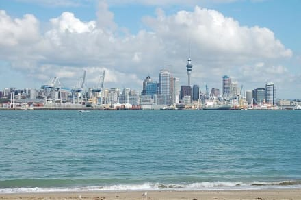 Auckland Waterfront - Skyline