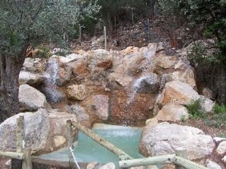 """Künstliche """"Bade""""Wasserfälle - La Reserva Parc Natural"""