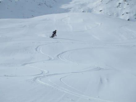 Und nochmal rum - Skigebiet Sölden