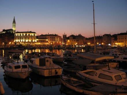 Abendstimmung in Rovinj - Hafen Rovinj